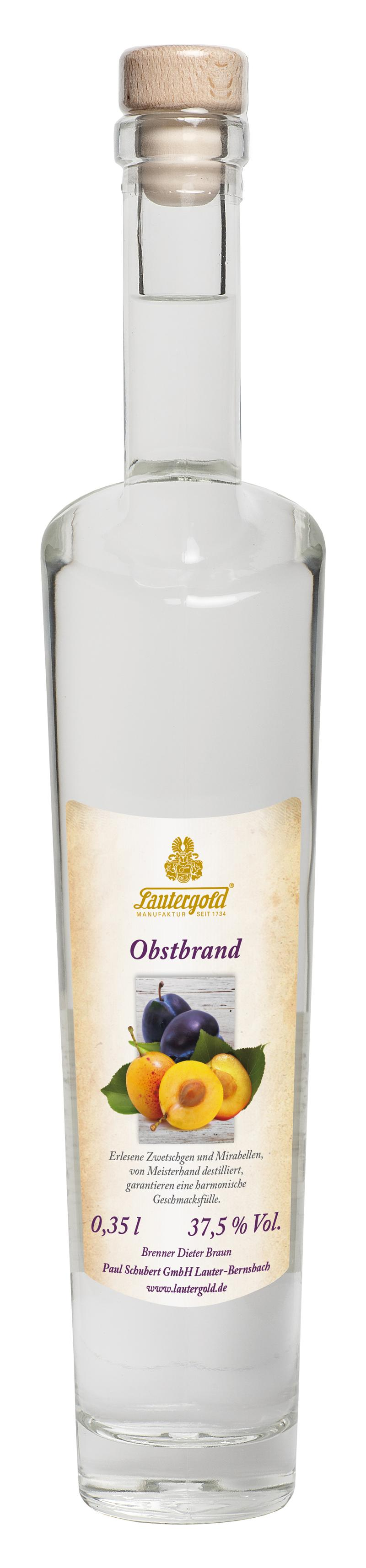 Obstbrand 37,5% vol.Obstbrand 37,5% vol.